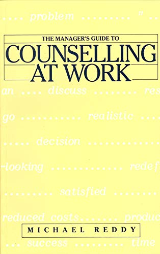 9780901715708: The Manager's Guide to Counselling at Work