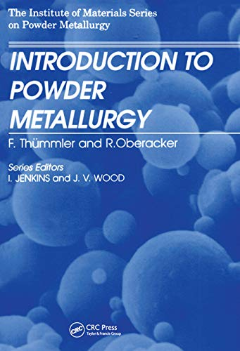 9780901716262: An Introduction to Powder Metallurgy (Institute of Materials Series on Powder Metallurgy)
