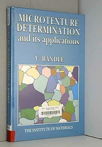9780901716354: Microtexture Determination and Its Applications (Book)