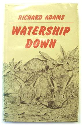 Watership Down 2nd Edition 1972 Hardcover signed: Richard Adams