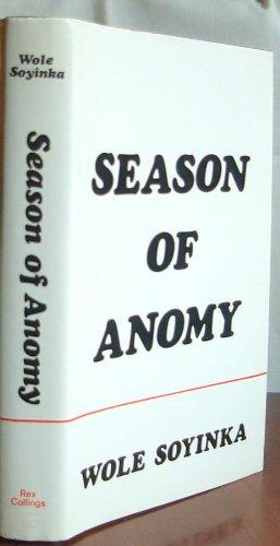 Season of Anomy: Soyinka, Wole
