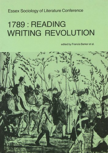 9780901726193: 1789: Reading Writing Revolution: Conference Papers