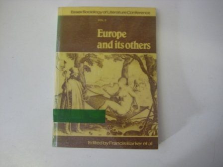9780901726261: Europe and Its Others: v. 2: Conference Papers