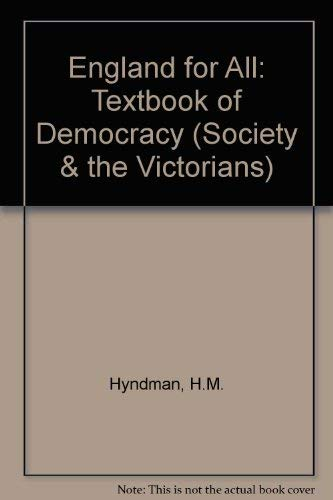 9780901759535: England for All: Textbook of Democracy (Society & the Victorians)