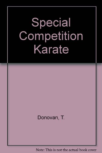9780901764294: Special Competition Karate