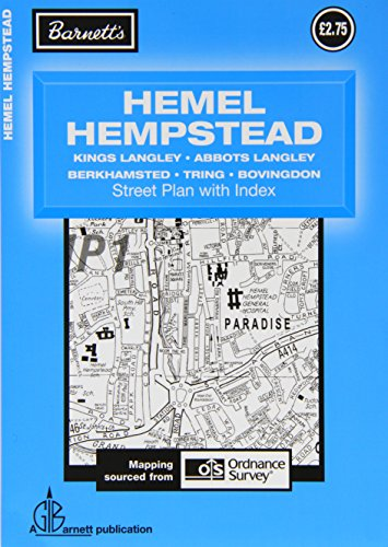 Hemel Hempstead: Tring / Berkhamsted / Bovington / The Langleys (Street Plans)