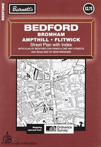 Bedford: Bromham / Ampthill / Flitwick (Street Plans)
