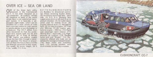 Inside Information on Hovercraft with cutaway drawings: Wood, L. Ashwell
