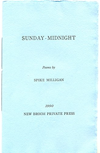 Sunday-midnight (9780901870803) by Spike Milligan