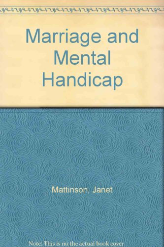 9780901882127: Marriage and Mental Handicap