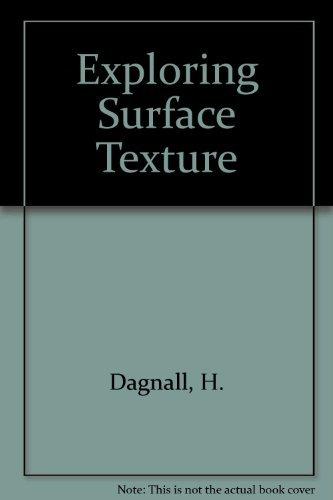 9780901920034: Exploring Surface Texture