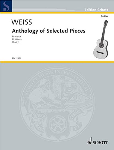 9780901938121: Anthology of Selected Pieces: Guitar Solo