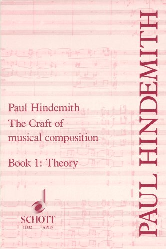 9780901938305: The Craft of Musical Composition, Book I: Theory (Tap/159)