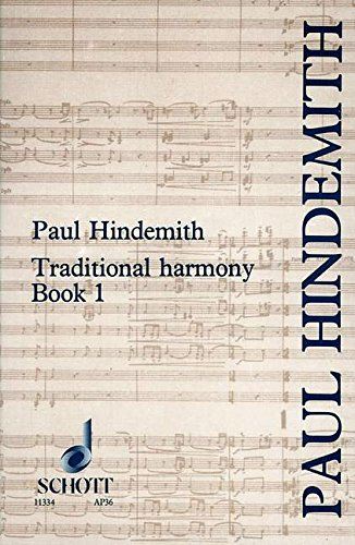 9780901938428: A Concentrated Course in Traditional Harmony: With Emphasis on Exercises and a Minimum of Rules, Book 1
