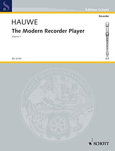 THE MODERN RECORDER PLAYER VOLUME 1 FOR