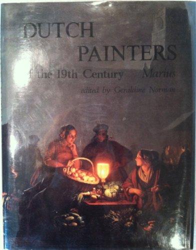 Dutch Painters of the 19th Century: Marius: Geraldine Norman (ed.)