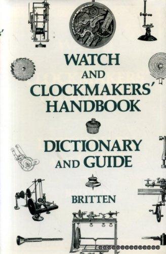 9780902028463: Watch and Clockmakers' Handbook