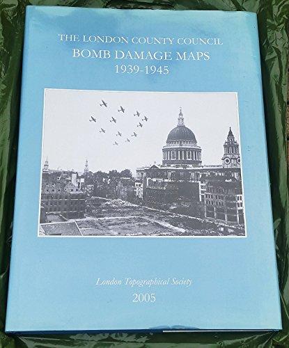 9780902087514: London County Council Bomb Damage Maps 1939-45