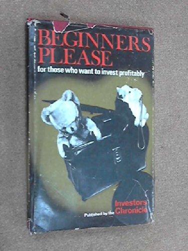 9780902101050: Beginners, Please!