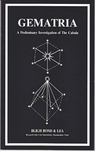9780902103047: Gematria: A Preliminary Investigation of the Cabala