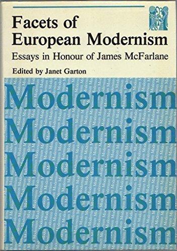 9780902171145: Facets of European Modernism: Essays in Honour of James McFarlane