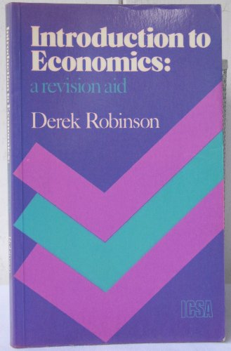 9780902197534: Introduction to economics: A revision aid