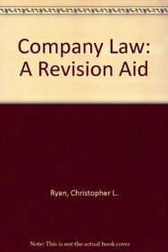 9780902197541: Company Law: A Revision Aid