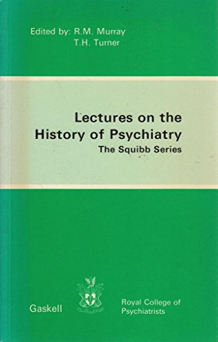 9780902241329: Lectures on the History of Psychiatry