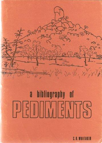 Pediments: A bibliography: Whitaker, Christopher Robert