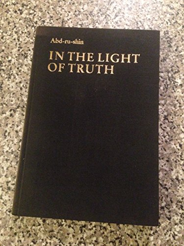 In The Light Of Truth V 1 Grail Message 9780902307063 By
