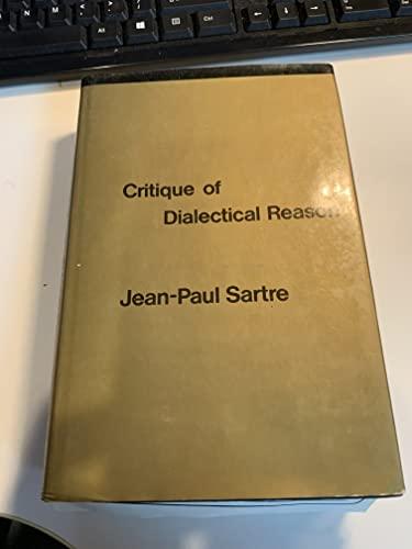 9780902308015: Critique of Dialectical Reason