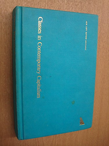 Classes in Contemporary Capitalism (0902308068) by Nicos Poulantzas