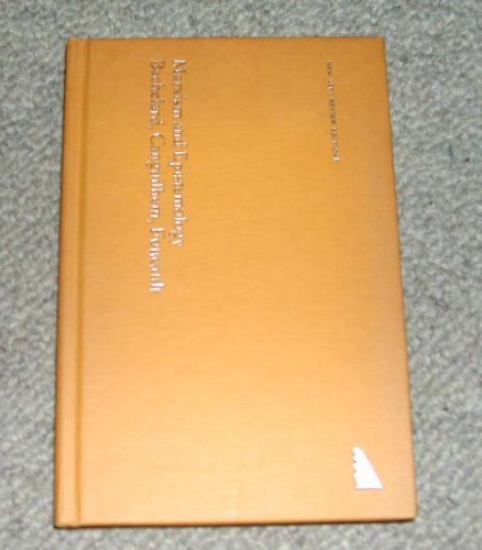 9780902308459: Marxism and Epistemology: Bachelard, Canguilhem and Foucault