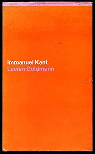 9780902308527: Immanuel Kant