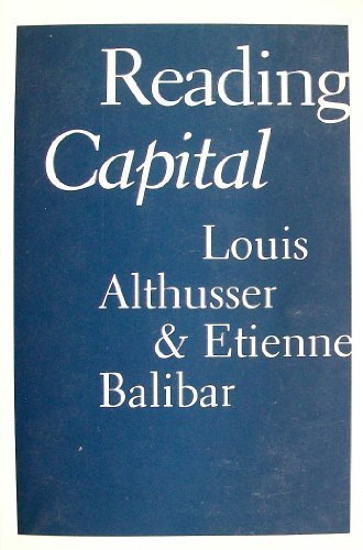 9780902308565: Reading Capital