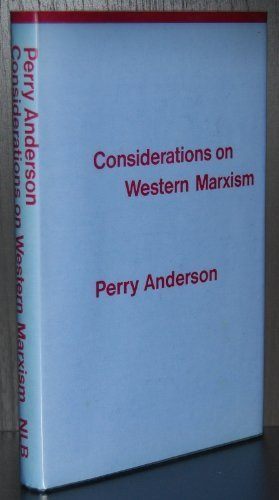 9780902308671: Considerations on Western Marxism