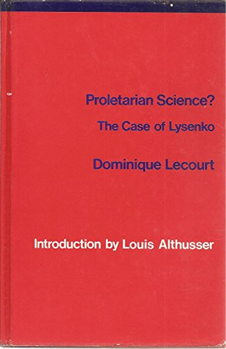 9780902308695: Proletarian Science? the Case of Lysenko