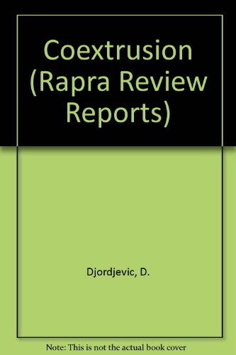 9780902348714: Coextrusion (Rapra Review Reports)