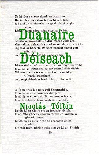 9780902563667: Duanaire Deiseach