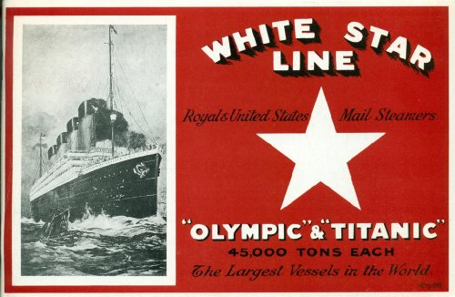 White Star Line Royal and United States Mail Steamers