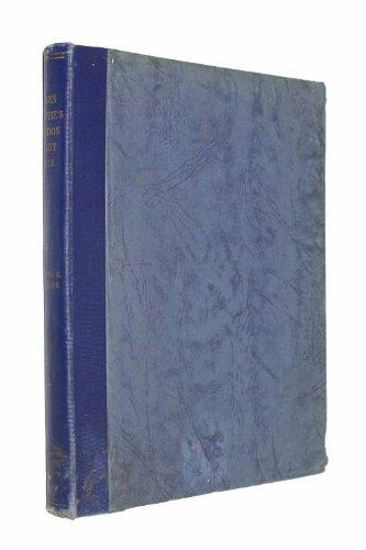 James Beattie's London Diary, 1773: Walker, Ralph S.