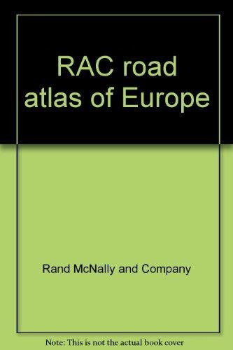 9780902628915: RAC road atlas of Europe
