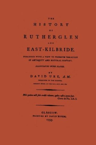 9780902664760: The History of Rutherglen and East Kilbride