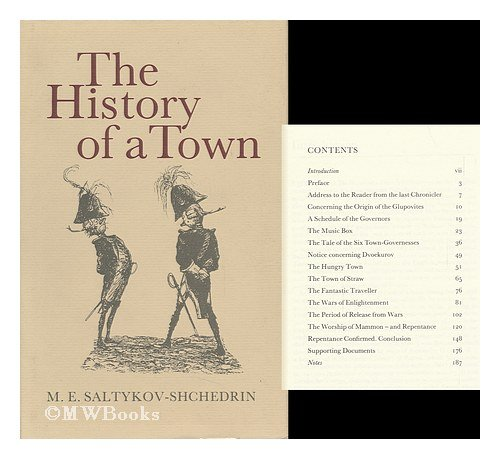 9780902672390: The History of a Town: Novel