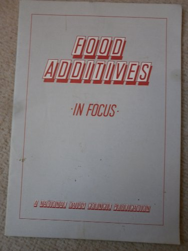 Food additives in Focus: The National dairy