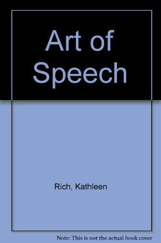 9780902750029: Art of Speech