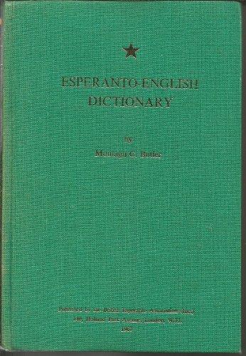 9780902756083: Esperanto-English Dictionary