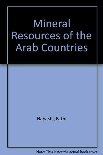 9780902777545: Mineral Resources of the Arab Countries