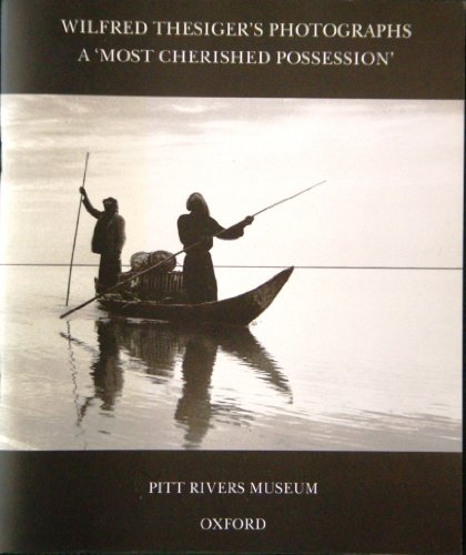 9780902793293: Wilfred Thesiger's Photographs: A Most Cherished Possession