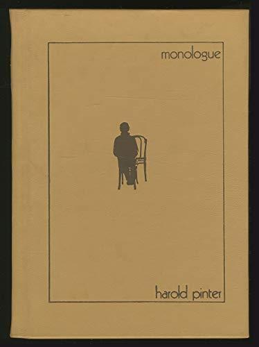 9780902843707: Monologue